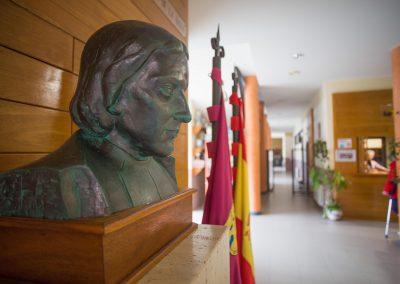 Hall de entrada edificio ESO