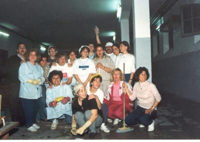 TEATROAño-1990-Adecentando-Salón-Actos