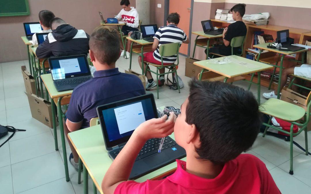 Proyecto Chromebook en la ESO
