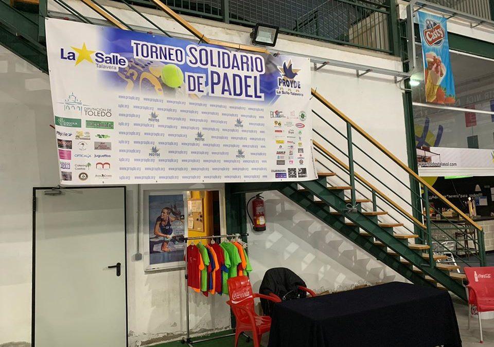 PROYDE: Torneo Solidario de Pádel