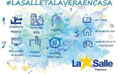 La Salle Talavera en casa.
