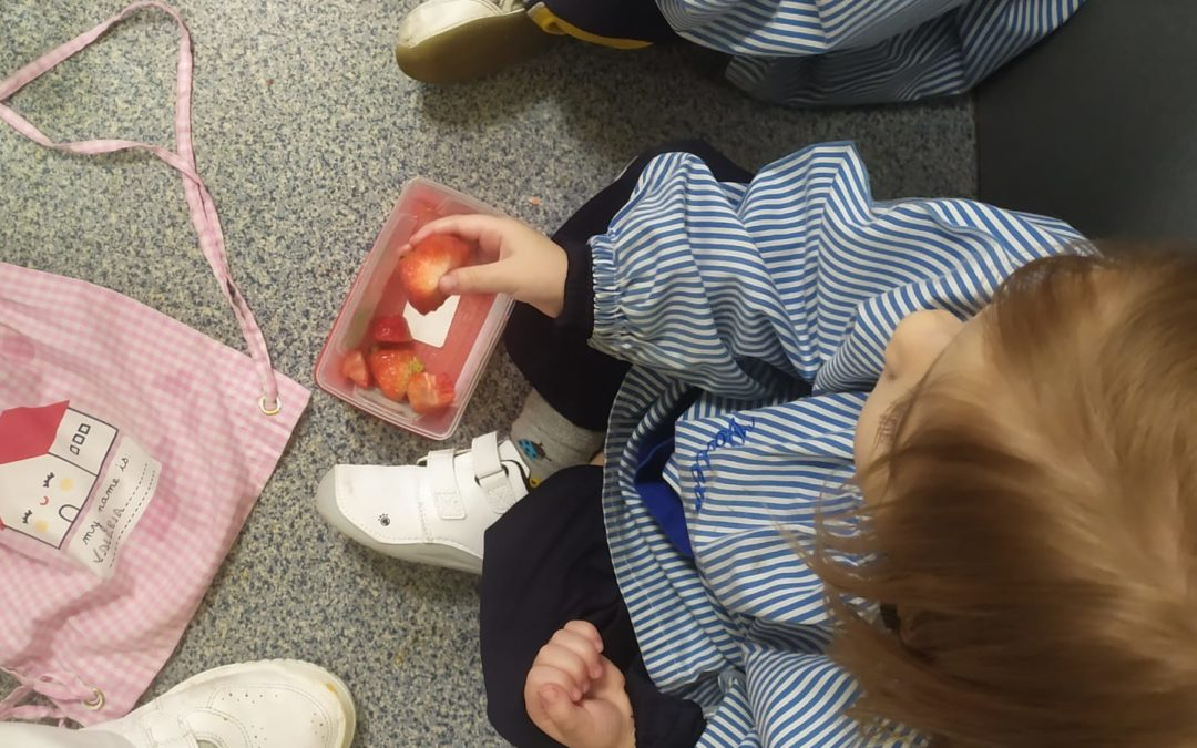 INFANTIL: almuerzos saludables.